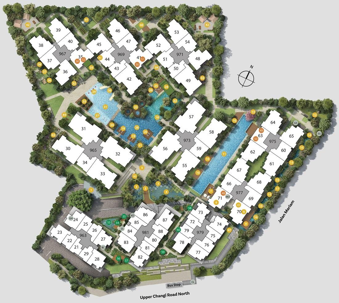Parc Komo Site Plan and Facilities